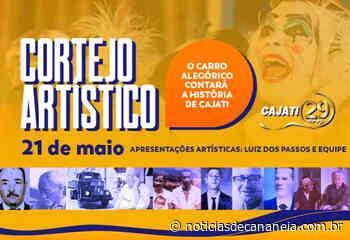 Cortejo artístico contará o desenvolvimento histórico de Cajati - Noticia de Cananéia