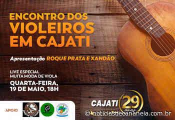 Assista o Encontro de Violeiros em Cajati no dia 19 de maio, às 19h - Noticia de Cananéia