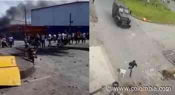 Paro nacional en Colombia: Saqueos y disturbios se presentaron en el puerto de Buenaventura - Colombia.com