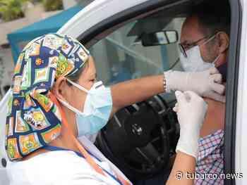 En Puerto Colombia ya se podrán vacunar contra el COVID-19 sin bajarse del carro - TuBarco