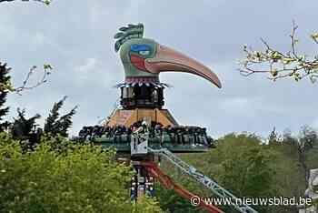 Dertig kinderen bijna uur vast in attractie El Volador in Bellewaerde