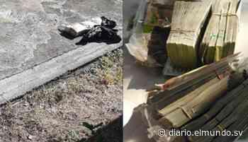 Fiscalía encontró $65 mil enterrados en Intipucá, La Unión - Diario El Mundo