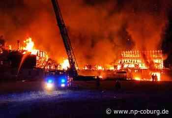 Tettau: Nach Großbrand auf Bauernhof: Das große Aufräumen beginnt - Neue Presse Coburg - Neue Presse Coburg