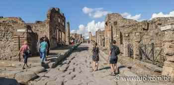 Seis afrescos roubados são devolvidos ao parque arqueológico de Pompeia - UOL