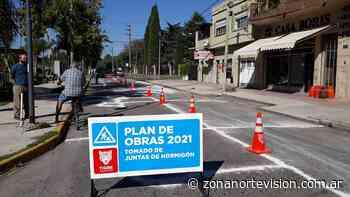En Don Torcuato, el Municipio de Tigre ejecuta nuevos trabajos de mantenimiento vial - Zona Norte Visión