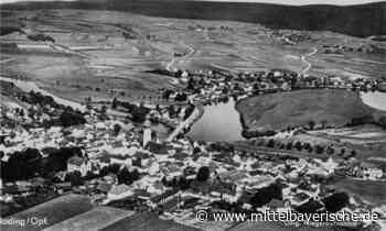 Blick von oben auf das alte Roding von 1936 - Mittelbayerische