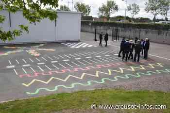 TORCY : Des jeux et de la couleur à l'école Champ Cordet - Creusot-infos.com