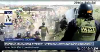 Huaura: Desalojan a familias que invadieron zona arqueológica de Hualmay - Canal N