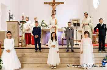 Sechs Kinder gingen in Stockheim zum Tisch des Herrn - inFranken.de