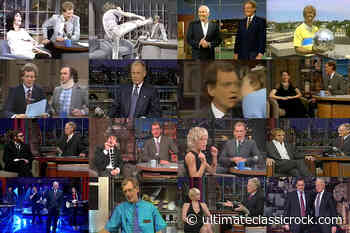 David Letterman's Most Memorable Late-Night Moments - Ultimate Classic Rock