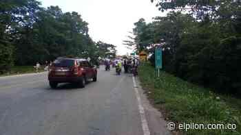 En San Alberto levantaron los bloqueos, pero piden diálogo con el gobernador - ElPilón.com.co