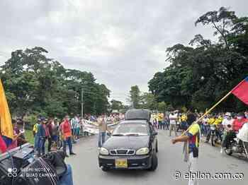 Tome apunte: nuevamente bloquearon vía nacional en el municipio de San Alberto - ElPilón.com.co
