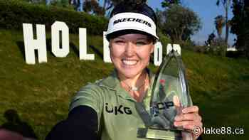 Smiths Falls' Brooke Henderson hopeful golf courses in Ontario open soon - lake88.ca