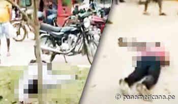 Pucallpa: policía abate a dos delincuentes y deja a otro herido | Panamericana TV - Panamericana Televisión