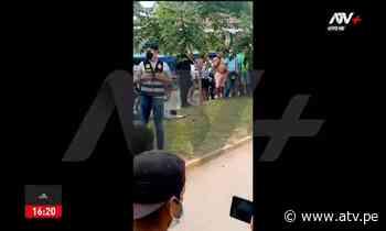 Pucallpa: Dos asaltantes mueren abatidos por la Policía - ATV.pe