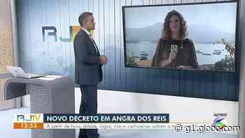 Angra dos Reis libera acesso a praias e convoca retorno de servidores vacinados - G1