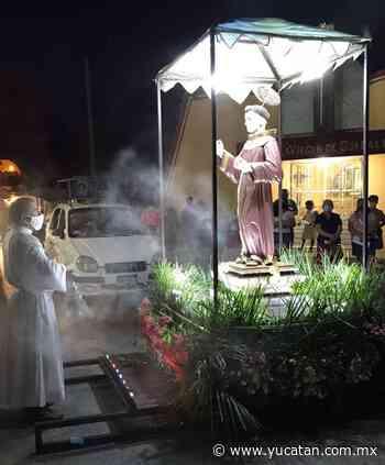 San Bernardino visita a fieles de 9 centros pastorales en Tixkokob - El Diario de Yucatán