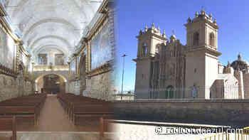 Ayaviri: Hoy se realizó la ceremonia de inauguración la catedral San Francisco de Asís - Radio Onda Azul