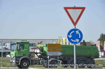 Vollsperrung wird wieder aufgehoben - Biblis - Nachrichten und Informationen - Mannheimer Morgen