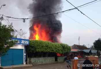Emergencia en Canalete por incendio en granero, comunidad controló la situación - LA RAZÓN.CO