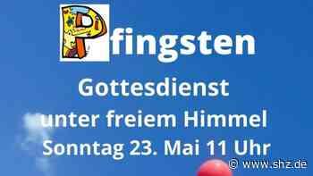 Gottesdienste an Pfingsten: Holm feiert unter freiem Himmel vor dem Gemeindezentrum | shz.de - shz.de