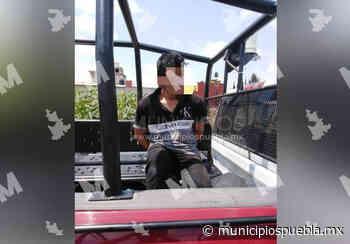 Vecinos detienen y golpean a ladrón en Tecamachalco - Municipios Puebla