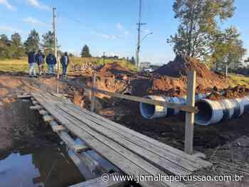 Nova Hartz acelera construção de nova ponte na Vicente Melo - Jornal Repercussão