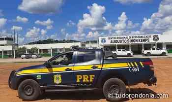 Em Jaru/RO, PRF auxilia Polícia Penal rondoniense na transferência de presos - Tudo Rondônia
