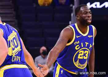 Stephen Curry, Draymond Green Finalists for 2020-21 NBA Awards