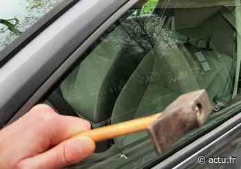 Yvelines. Le voleur avait dégradé 18 voitures à Montigny-le-Bretonneux - actu.fr