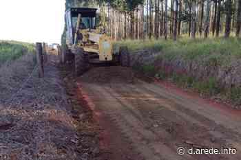 Arapoti faz ação intermunicipal para recuperar estradas rurais - ARede