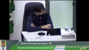 Sessão da Câmara de Arapoti é suspensa após discussão e ameaças entre parlamentares - Folha Extra