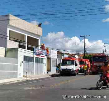 Pintor sofre descarga elétrica em telhado de residência em Santana do Ipanema - Correio Notícia