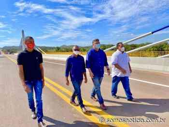 Júlio Arcoverde destaca importância de ponte em Santa Filomena - Somos Notícia