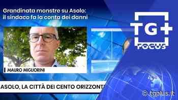 Grandinata monstre su Asolo: il sindaco fa la conta dei danni – TG Plus FOCUS Treviso - Tg Plus