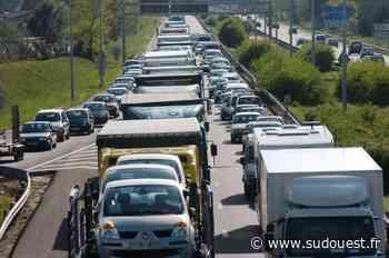 Gironde : l'autoroute A63 coupée à Mios après un accident - Sud Ouest