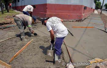 Tigre construyó veredas en escuelas y jardines de General Pacheco - InfoBan