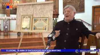 Target: Clusone, 70 anni di sacerdozio per don Martino - MyValley.it