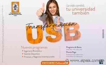 ¡En la Universidad de San Buenaventura Cali, nos transformamos y queremos que tu hijo haga parte del cambio! - El País