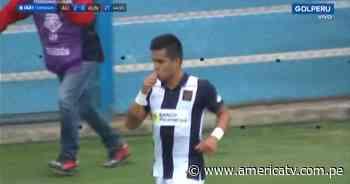 Alianza Lima vs. Alianza Universidad: Lagos anotó el 2-0 para los blanquiazules - América Televisión