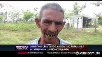 Agricultores de Hato Nuevo y Manoguayabo piden arreglo de la vía principal - CDN