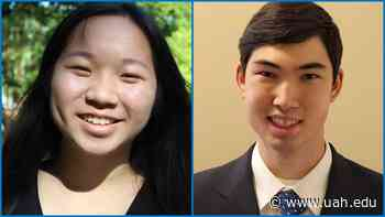 UAH announces selection of first Prevost Scholars - UAH News