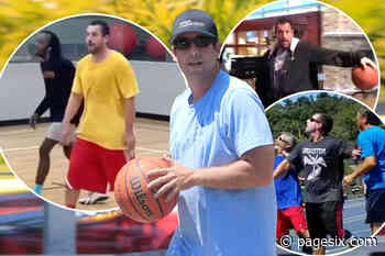 Ranking Adam Sandler's pickup basketball outfits - Page Six