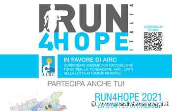 Run4hope contro i tumori infantili, la prima tappa si conclude a Marsciano - Medio Tevere Oggi