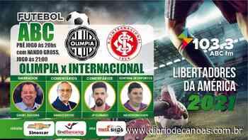 Acompanhe Olimpia e Inter na Rádio ABC 103.3 fm - Diário de Canoas