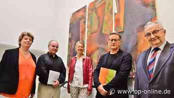 Ausstellung von Horst Noll in Neu-Isenburger Stadtbibliothek - op-online.de