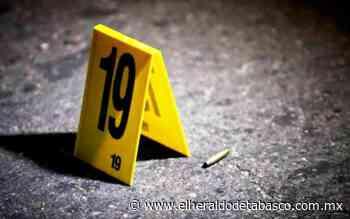 Jueves sangriento en Macuspana, acribillan a dos - El Heraldo de Tabasco
