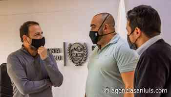 Macagno se reunió con el intendente de Villa Mercedes para impulsar el desarrollo turístico - Agencia de Noticias San Luis