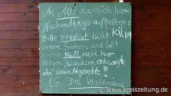 Wunsch der Waldmäuse: Weniger Müll! - kreiszeitung.de