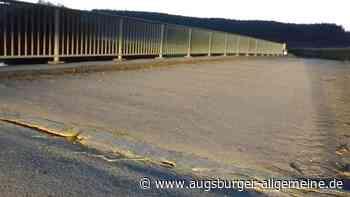 Bebenhauser Günzbrücke muss gerichtet werden - Augsburger Allgemeine